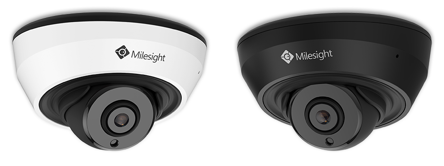 Two Colors Available for IR Mini Dome Network Camera.