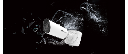 IP67 Weather-proof Housing and ik10
