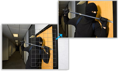 Example of Smart PTZ Motion Detection