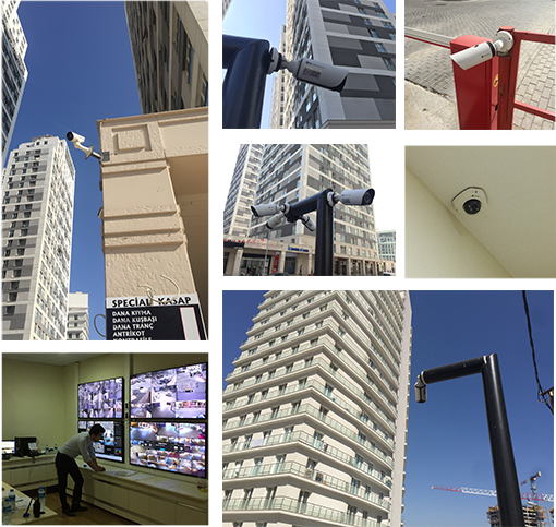 Milesight IP Cameras used in residential security