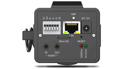 Versatile Interfaces for LPR Pro Box Camera