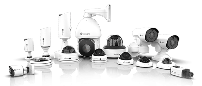H.265 Mini PoE PTZ Network Camera, H.265 Pro Bullet Network Camera, H.265 Pro Dome Network Camera and H.265 Speed Dome Network Camera.
