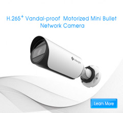 Vandal-proof Motorized Mini Bullet